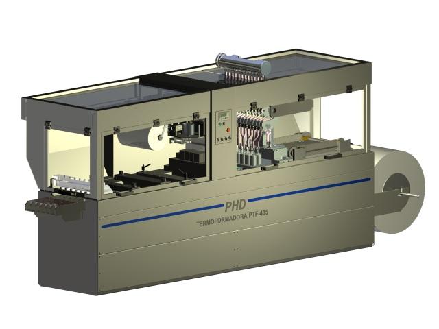 Termoformadora para Filmes Rígidos PTF-405